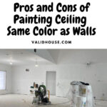 Pros and Cons of Painting Ceiling Same Color as Walls