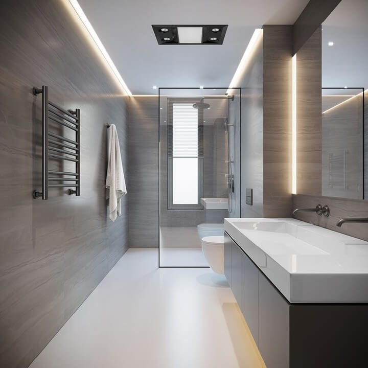 Can a Bathroom Exhaust Fan be Installed on a Wall?