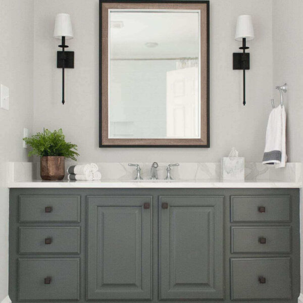 Where Should Bathroom Sconces be Placed?