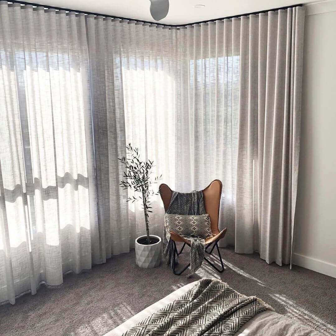 How to Make Sheer Curtains More Private