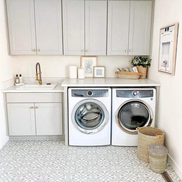 Laundry Room Next to Master Bedroom