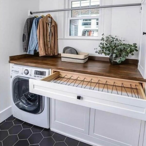 Should Laundry Room Cabinets Match Kitchen Cabinets?