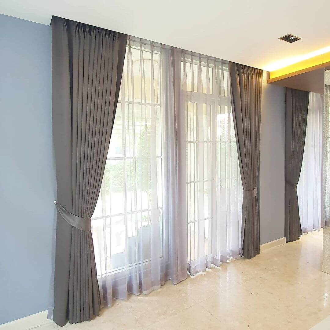 Should Sheers be the Same Length as Curtains?