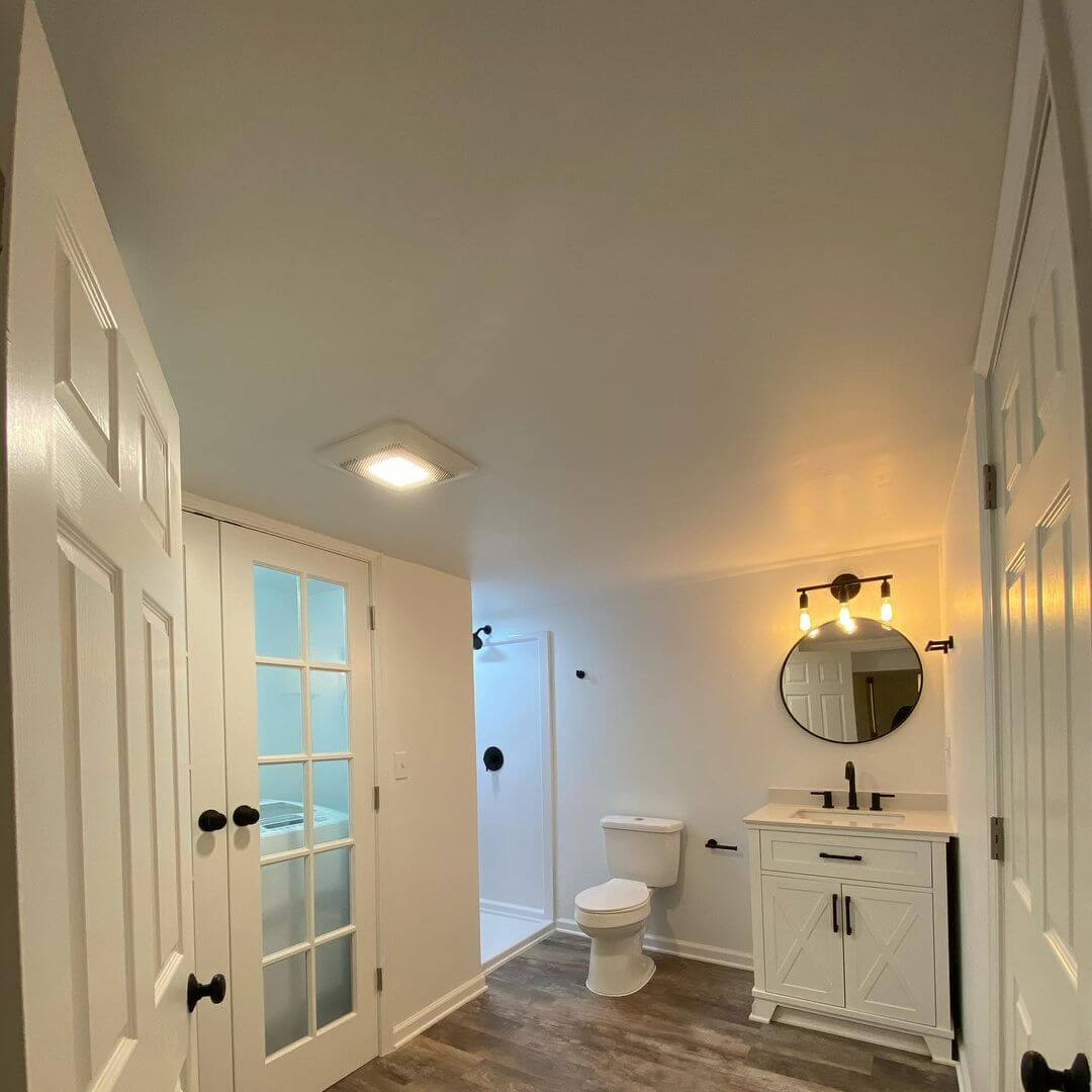 How to Change Light Bulb in a Round NuTone Bathroom Fan