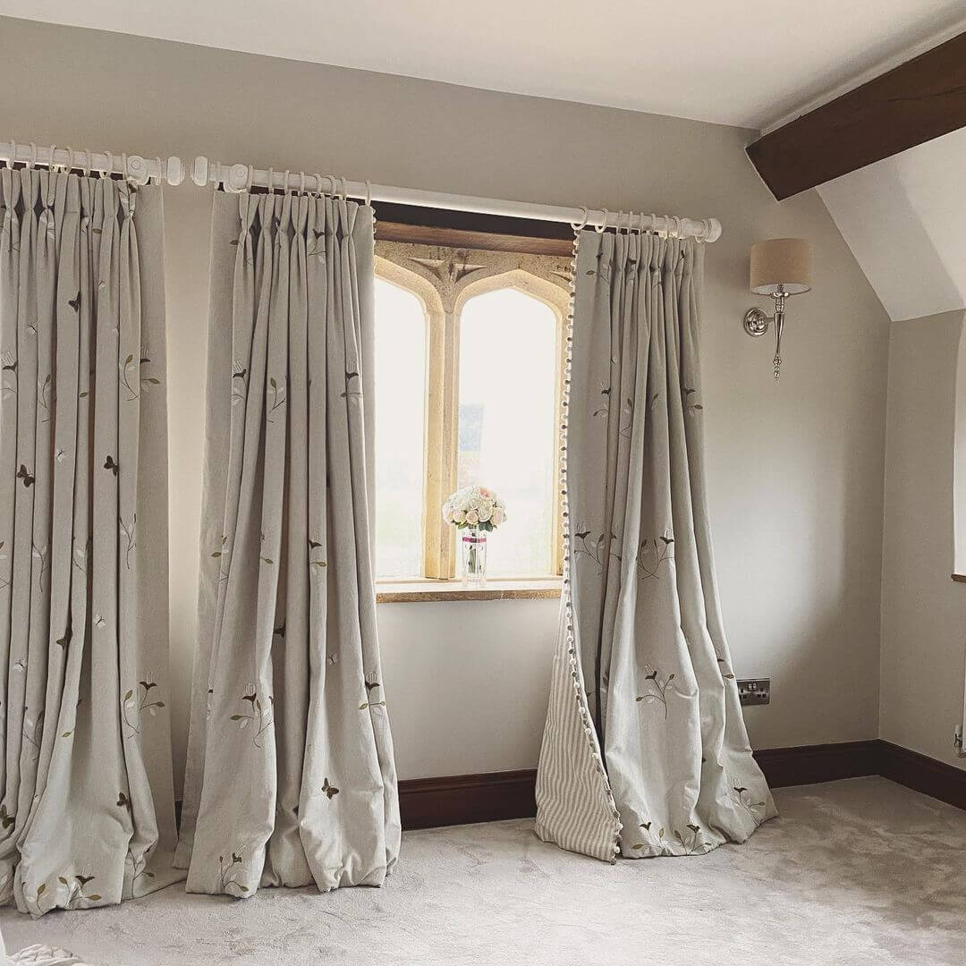 How Long Should Curtains be Above a Radiator?