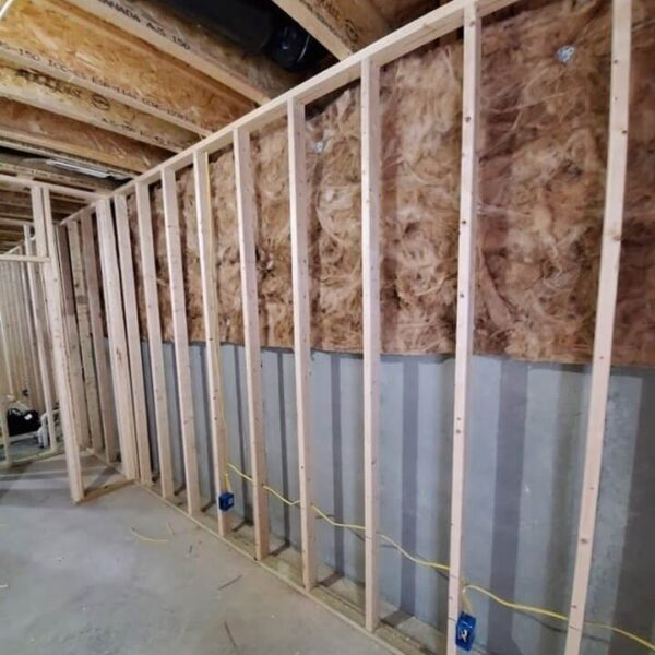 Framing Basement Walls Against Concrete