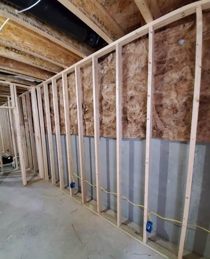 Framing Basement Walls Against Concrete
