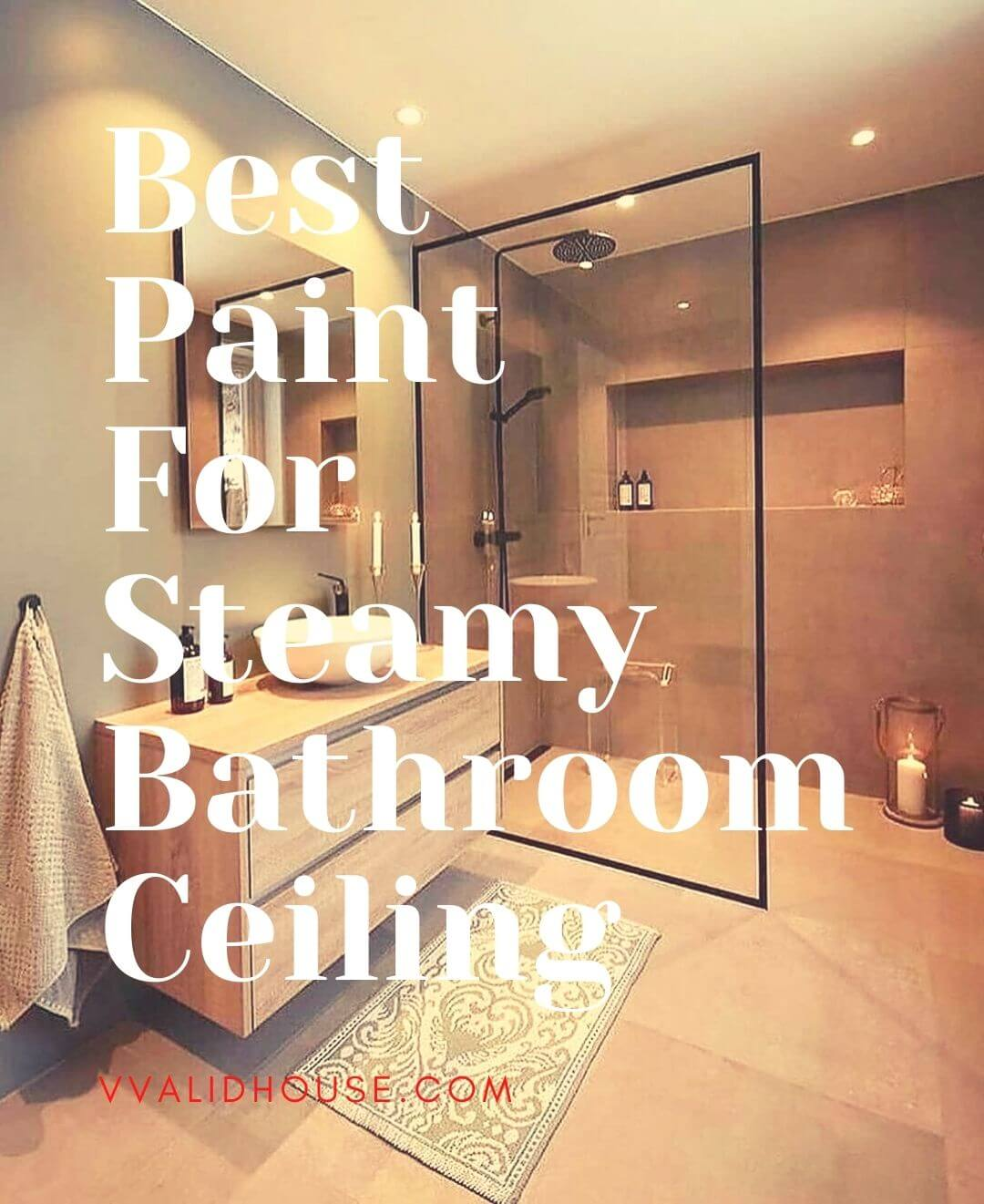 Best Paint For Steamy Bathroom Ceiling