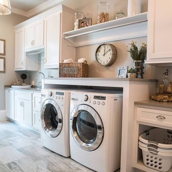 Second Floor Laundry Room Requirements