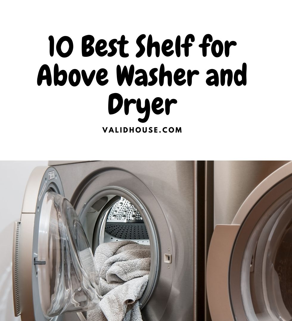 Shelf for Above Washer and Dryer