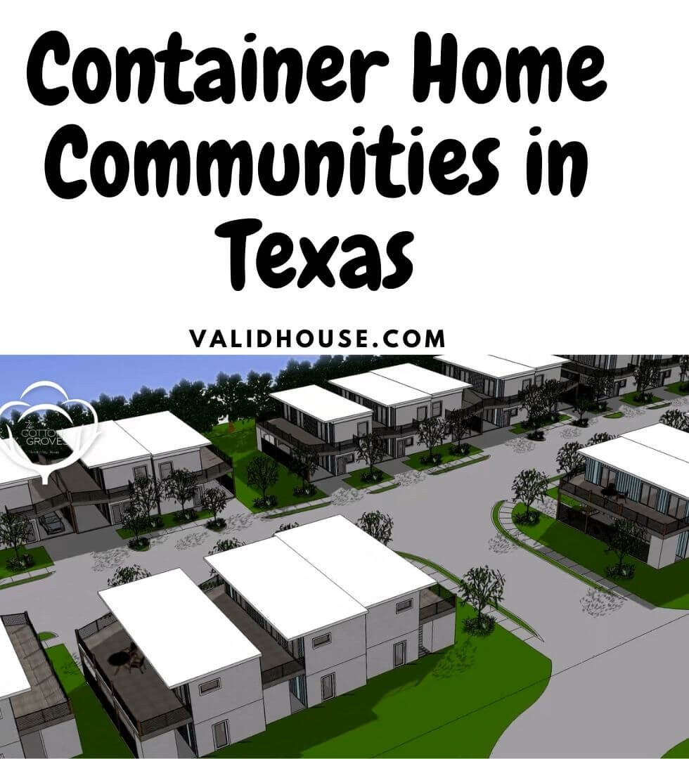 Container Home Communities in Texas