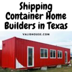 Shipping Container Home Builders in Texas