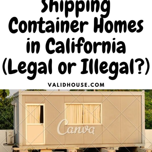 Shipping Container Homes in California