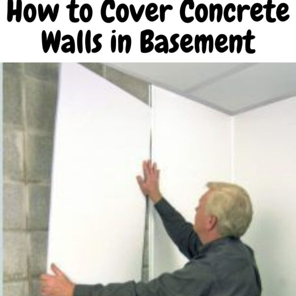 How to Cover Concrete Walls in Basement