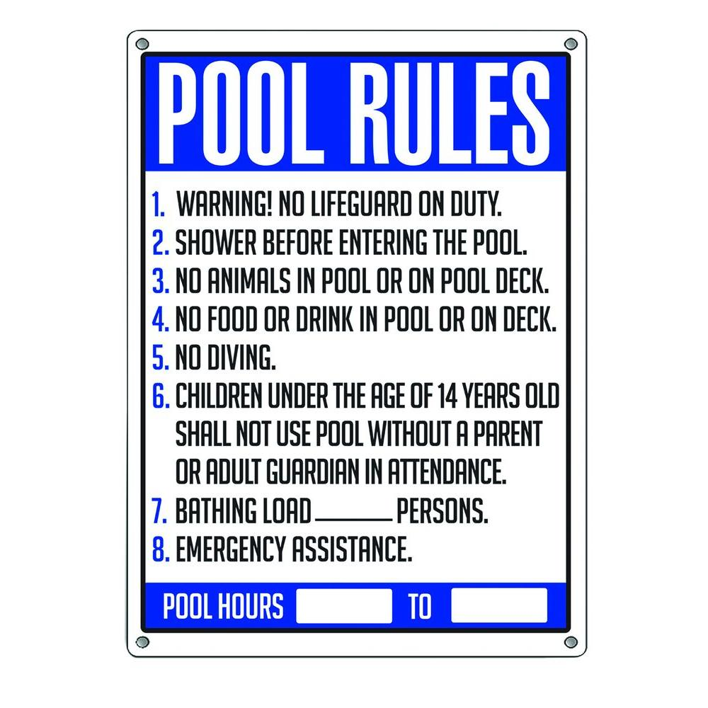 Residential Swimming Pool Regulations